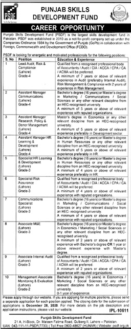 psdf-jobs-2020-apply-online