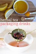 Herbal tea packaging drinks ! How to Make Custom Herbal Tea Blends