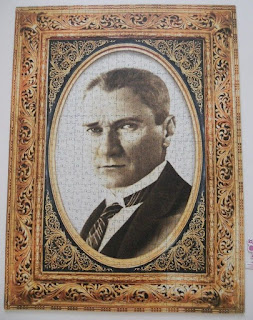 King of Puzzle-Atatürk Portre