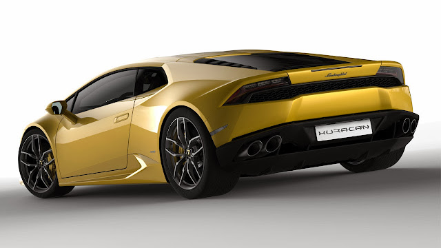 Lamborghini Huracán LP 610-4 rear side