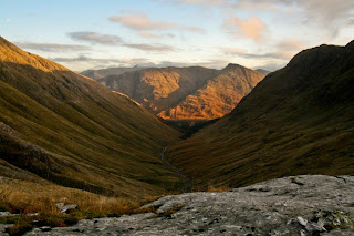 The final leg from Bidean Nam Bian to Glel Etive