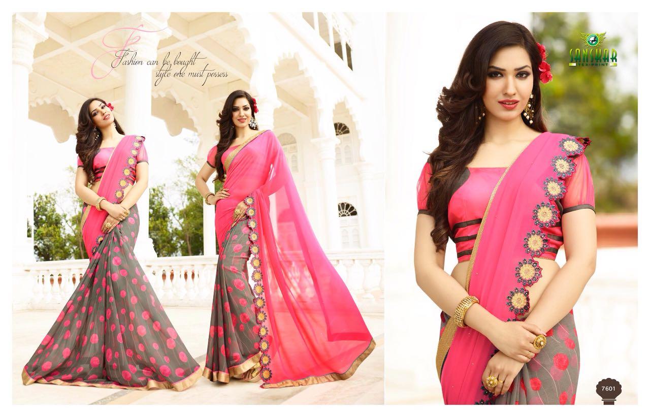 New sarees stylish