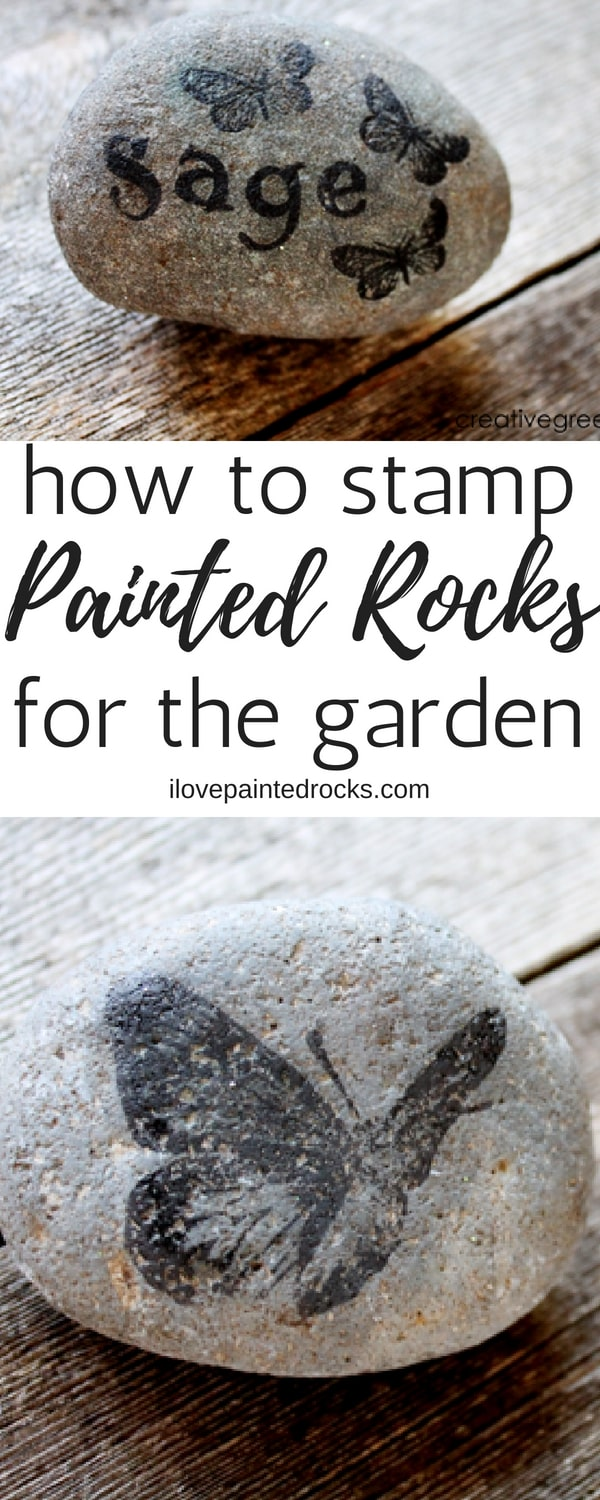 painted rocks for your garden