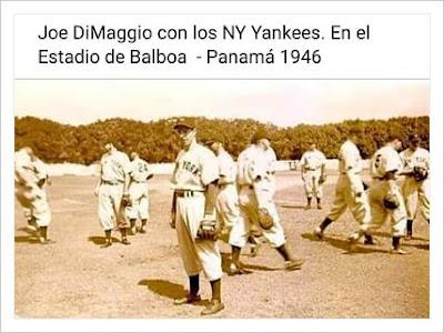 """""""Mulos de Manhattan de New York"""" Estadio de Balboa 1946"""