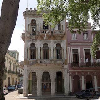 Kuba, Havanna, la Habana Centro, Hausecke