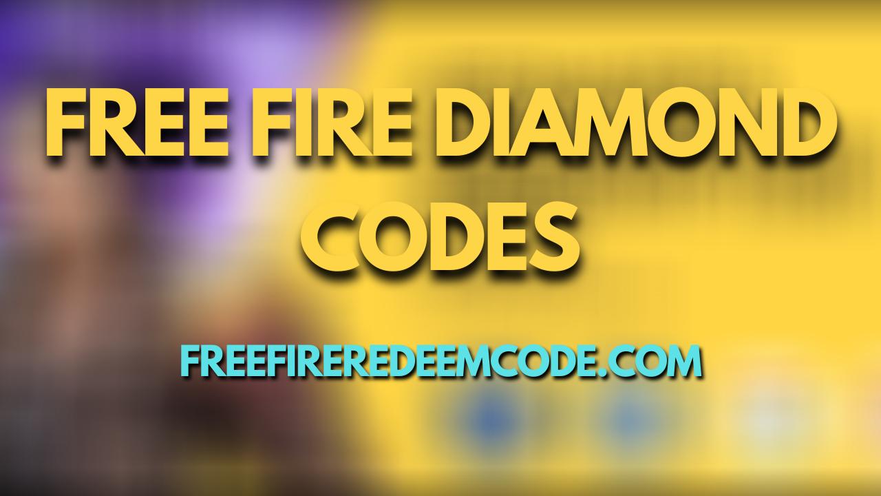 Free Fire Diamond Code Today