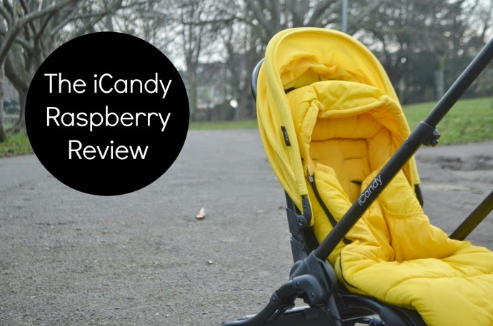 iCandy raspberry review, icandy Raspberry, icandy black and yellow