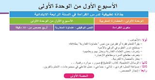 جذاذات اللغة العربية مستوى الرابع، مرجع الجديد في اللغة العربية، مستوى الرابع ابتدائي، طبعة شتنبر 2019، المنهاج الجديد.