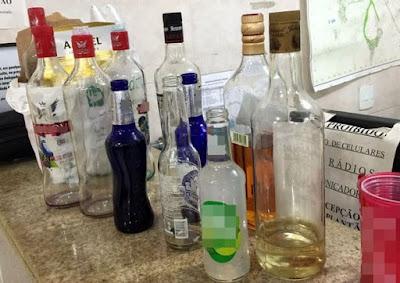 PM flagra bebida rolando solta para crianças e adolescentes durante festa em Porto União