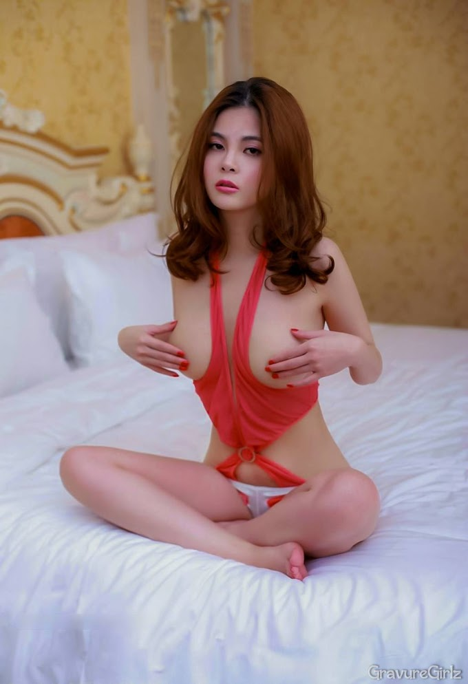 Pussy Girl China Taipei Nude Model Tong Anqi Olivia 童安琪 Maid Seamless Bodies
