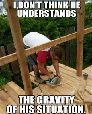 Not Understanding the Gravity of the Situation