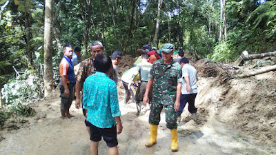 Curah Hujan Tinggi, Bencana Tanah Longsor dan Banjir  Terjadi di Karangpucung