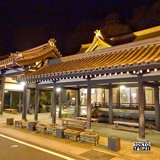 【御所之湯】依照京都御所外觀建造 天皇姊姊泡過的美人湯
