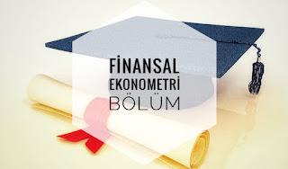 Finansal Ekonometri Bölümü İş İmkanları Hakkında Bilgi