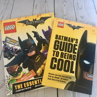 The LEGO Batman Movie Essential Guide  and Batman's Guide to Being Cool