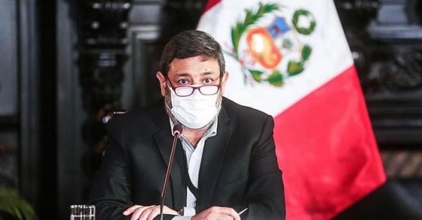 Proyecto para reestructurar el MINEDU garantiza calidad del servicio educativo, sostuvo el Ministro de Educación, Ricardo Cuenca