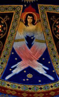 Freski i witraże Juliana Bucmaniuka z bazyliki grekokatolickiej w Żółkwi