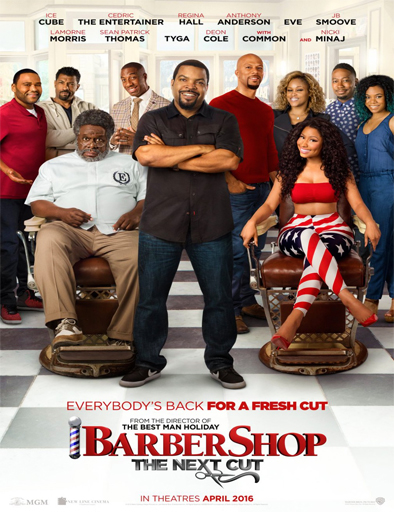 Ver Barbershop: The Next Cut (2016) Online