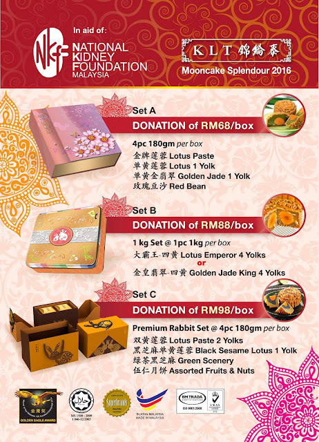 MOONCAKES WITH A CAUSE : NKF launches low-sugar mooncakes for Mid