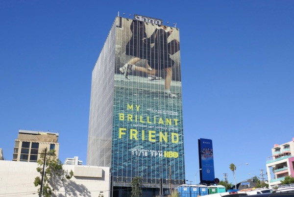 My Brilliant Friend series billboard