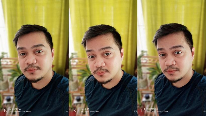 realme narzo 30A sample portrait selfie