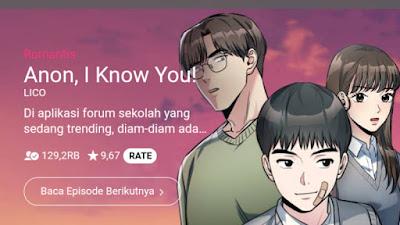 Baca Anon, I Know You Webtoon