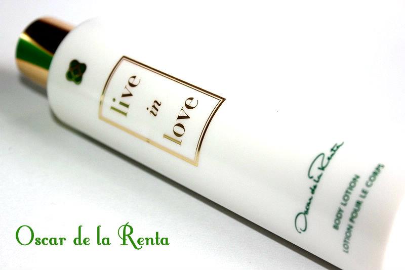 Отзыв: Ароматный лосьон для тела  Oscar de la Renta Live in Love Body Lotion.