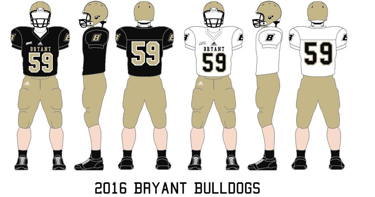 timeless design 13f9c a320c Gridiron Garb: Bryant Bulldogs (2016), Central Connecticut ...