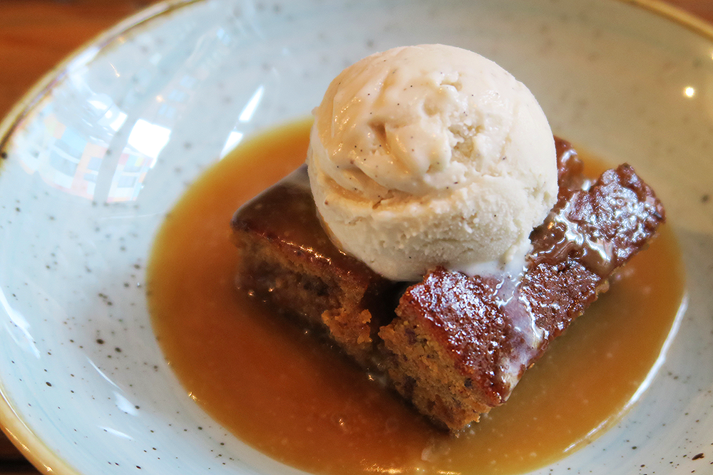 Sticky Toffee Pudding at Black Swan Leeds