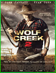 El cazador de Wolf Creek 2 (2013) | 3gp/Mp4/DVDRip Cast-Sub HD Mega