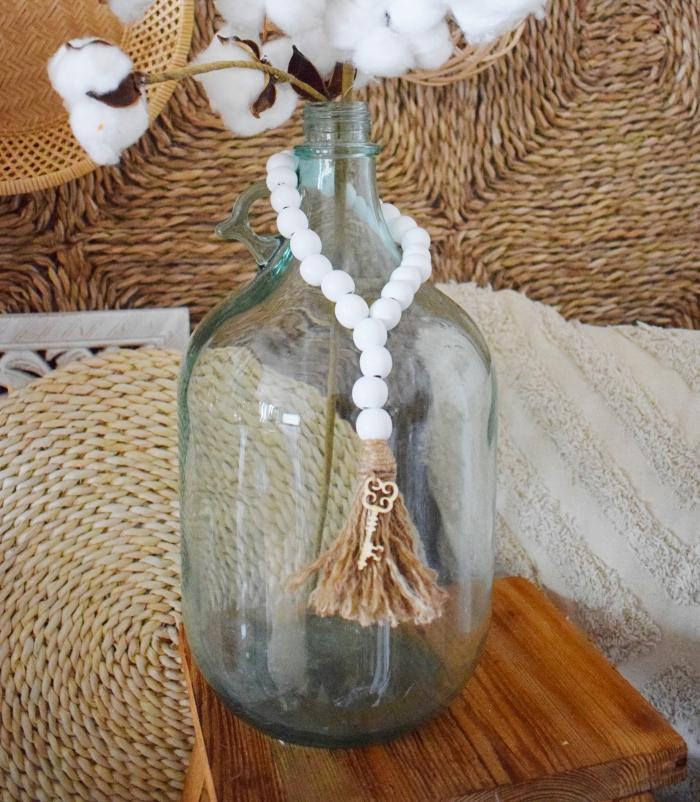 DIY - Dekoracja z koralików
