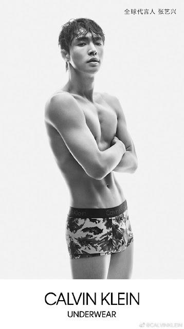 Calvin Klein Lay Zhang