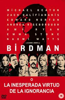 Película Birdman, de Alejandro González Iñárruti - Cine de Escritor