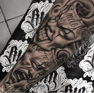 Gangster Hip Hop Tattoo