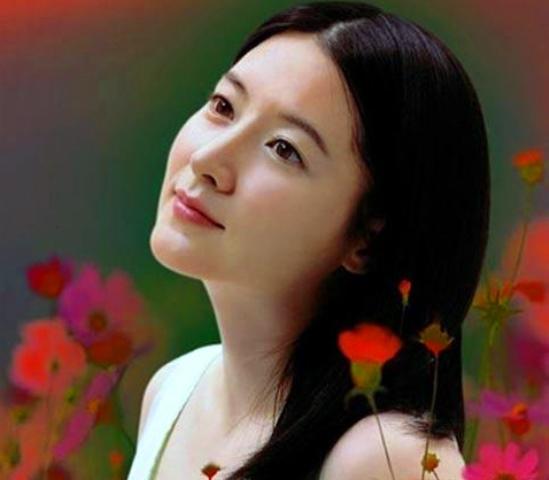 Model Rambut Lurus Panjang Ala Lee Young Ae