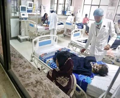 भारी बारिश के कारण फैला वायरल बुखार, हुई 11 लोगों की मौत, वायरल बुखार से पीड़ितों की बढ़ रही अस्पताल में संख्या