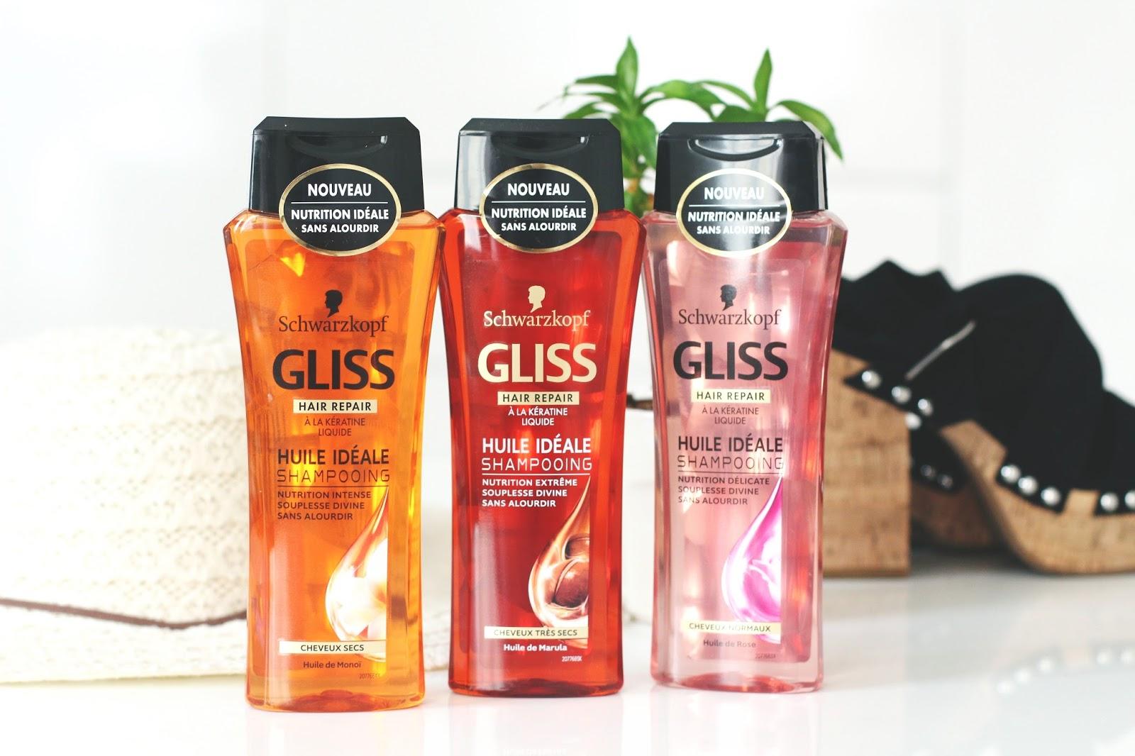 gliss hair repair huile idéale schwarzkopf