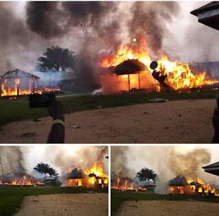 Breaking: IPWD CONDEMNS   NIGERIA MILITARIES  BURNING  INNOCENT IJAW COMMUNITIES BECAUSE OF SEAPARIATES(LETUGBENE COMMUNITY )