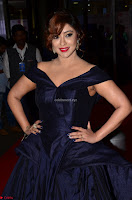 Payal Ghosh aka Harika in Dark Blue Deep Neck Sleeveless Gown at 64th Jio Filmfare Awards South 2017 ~  Exclusive 009.JPG