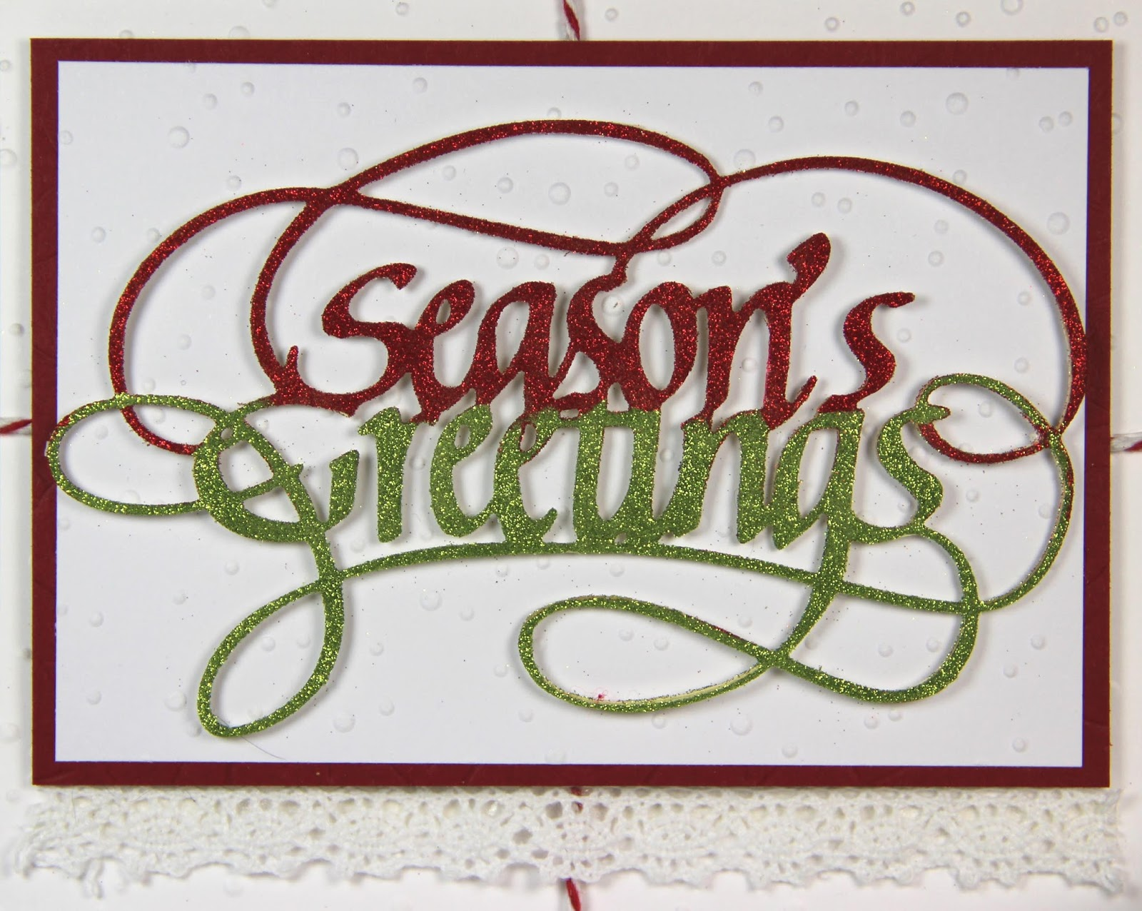 Quietfire Creations A Way With Words Season S Greetings