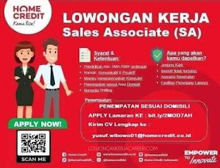 Loker home Credit Bandung 2020