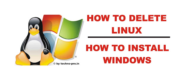 How to Format Laptop Windows 7/8/10 (2019 Update) | How to Remove Linux
