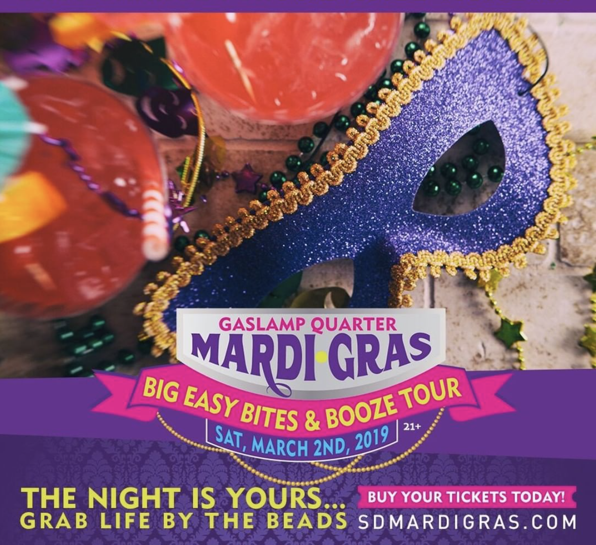 Save On Passes & Enter To Win Tickets To The Big Easy Bites & Booze Tour on March 2!