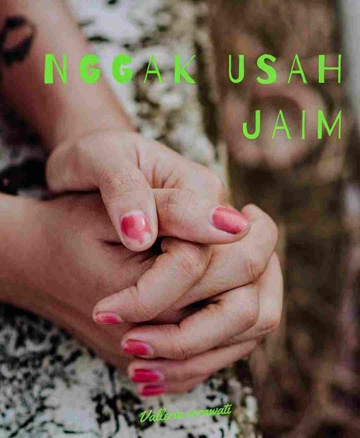 Novel Nggak Usah Jaim: Kembali ke Percaya Diri Karya Valleria Verawati PDF