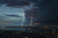 Storm over the World City