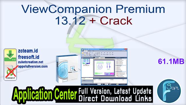 ViewCompanion Premium 13.12 + Crack_ ZcTeam.id