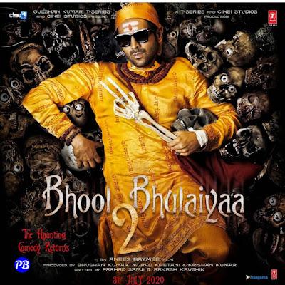 Bhool Bhulaiyaa 2 First Look released of Kartik Aaryan upcoming film