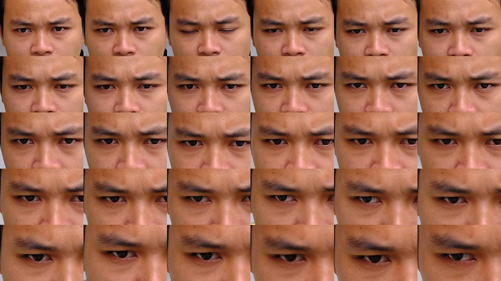 Фокусировка на лице в режиме серийной съемки