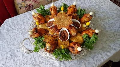 تطبيق وصفة الكوكلي بالمرافقات المالحة للشيف بشرى ضيفتي في حلقات اطباق بلادي المغرب