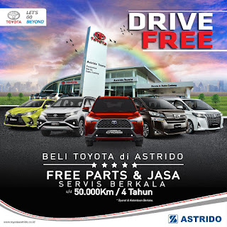 Toyota Jakarta Gelar Promo Sepanjang Tahun 2020